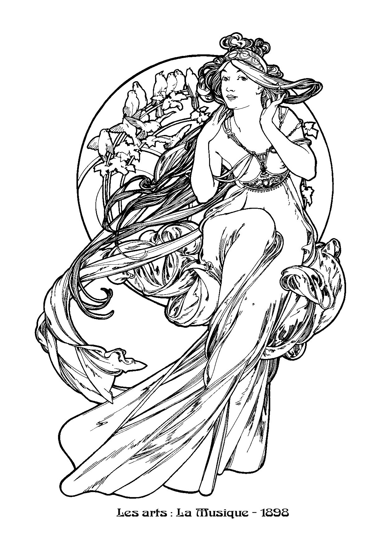 coloring pages for art - photo#37