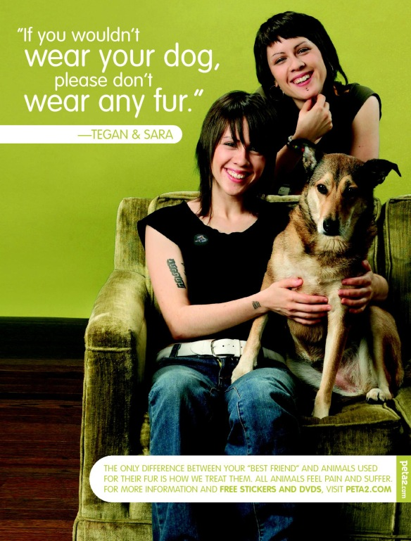 A selection of 40 PETA Celebrity Ads - dvdbash.wordpress.com
