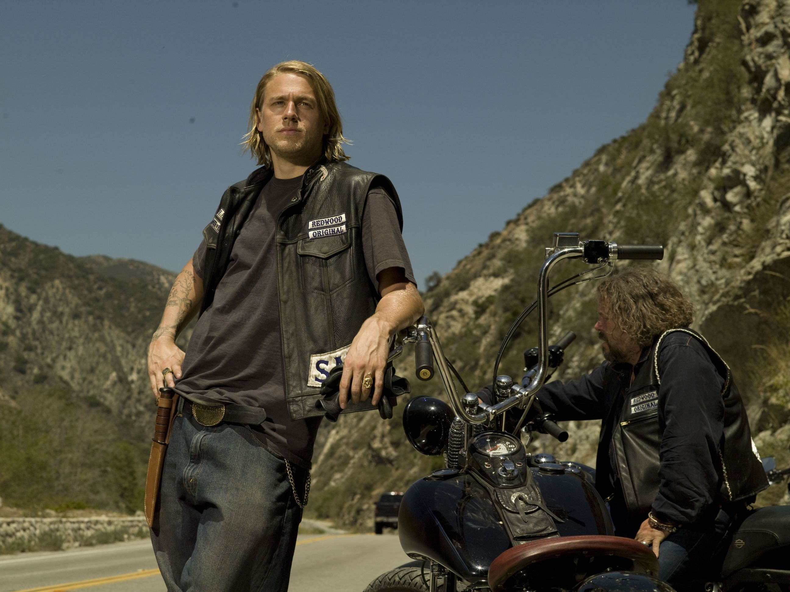 Charlie Hunnam Soa: Sons Of Anarchy TV Series Promo Photos