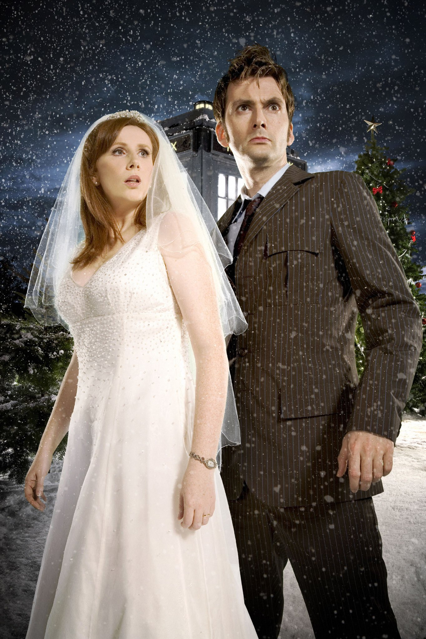Doctor Who TV Series 2 Story 178 The Runaway Bride Special Christmas ...