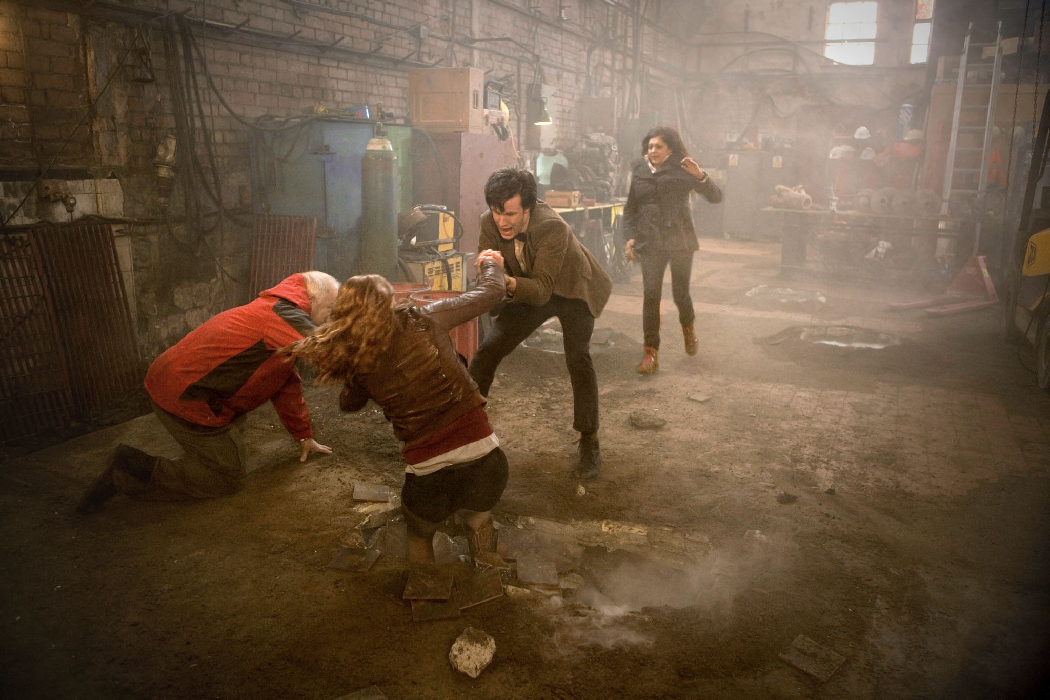 doctor who tv series 5 story 209 the hungry earth cold