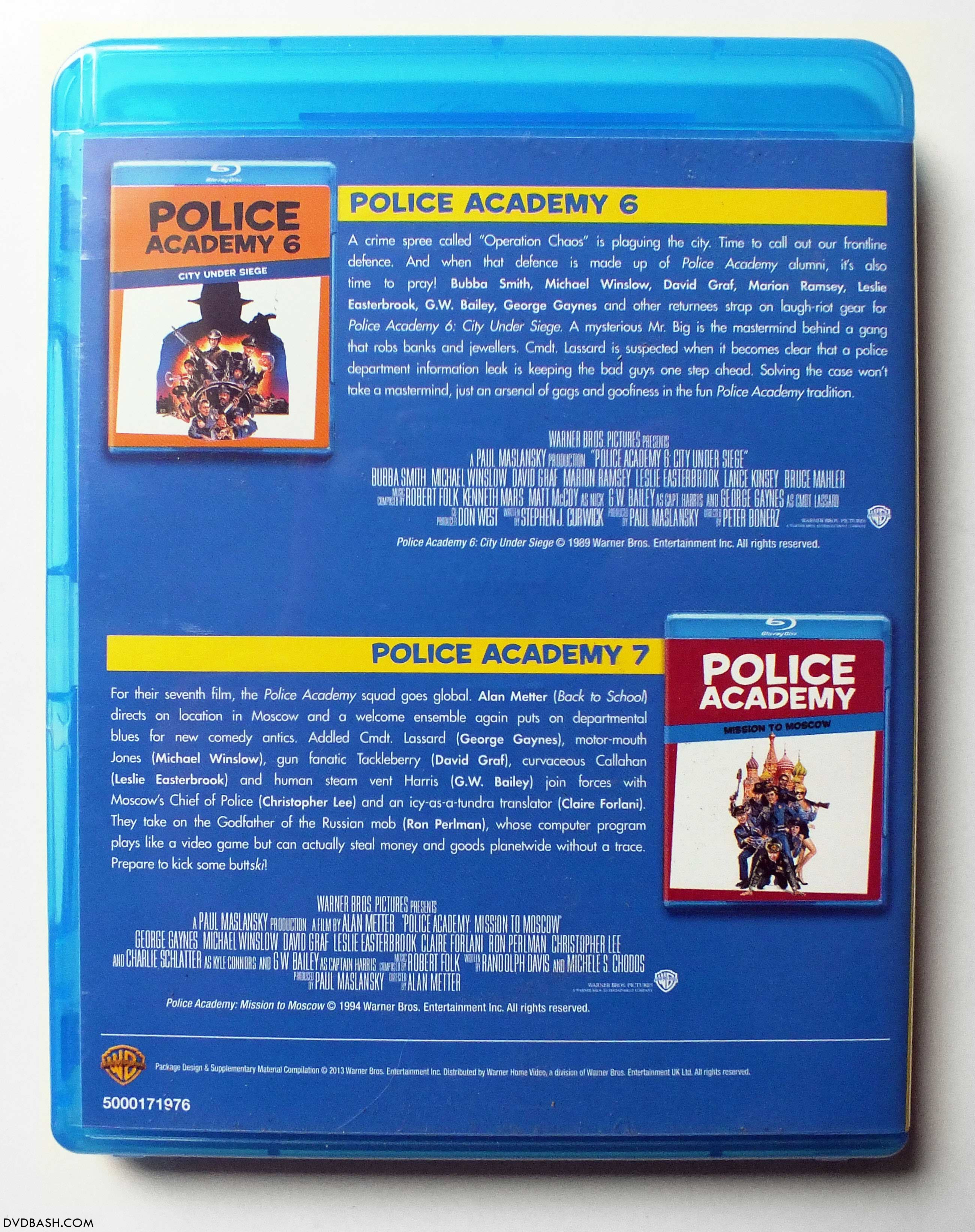 police academy 1 7 the complete collection download