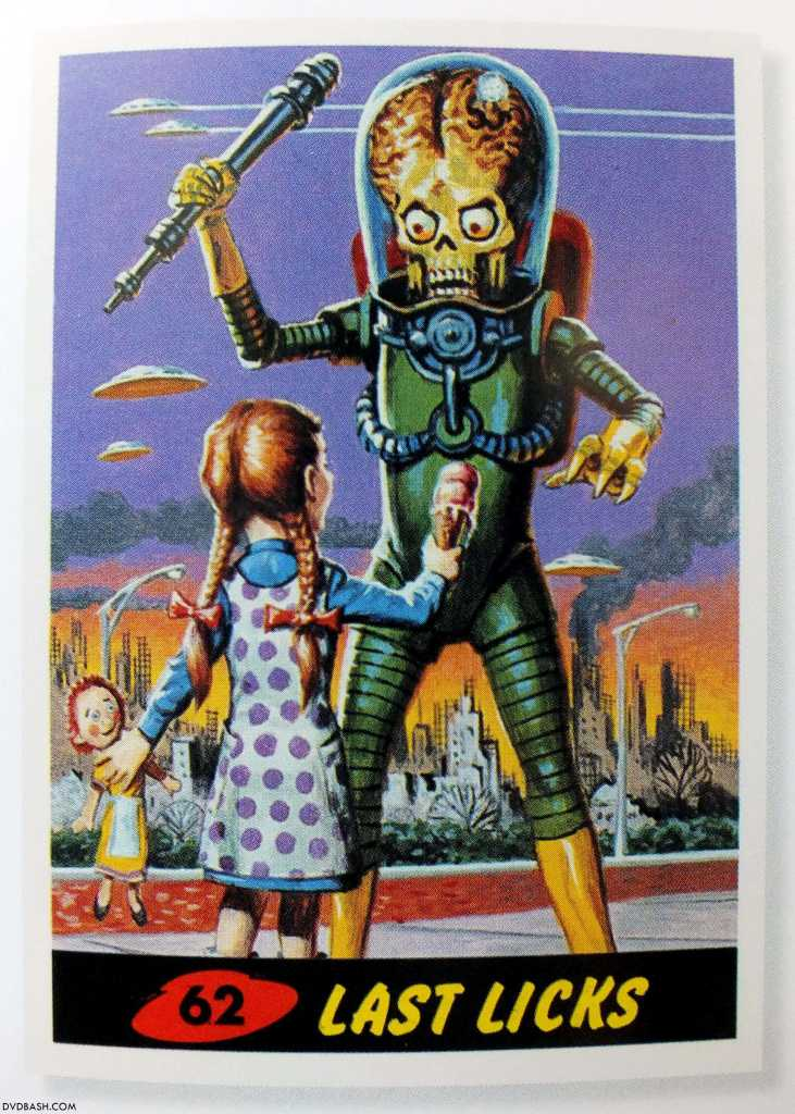Topps Trading Cards Book Mars Attacks 21 Dvdbash Dvdbash