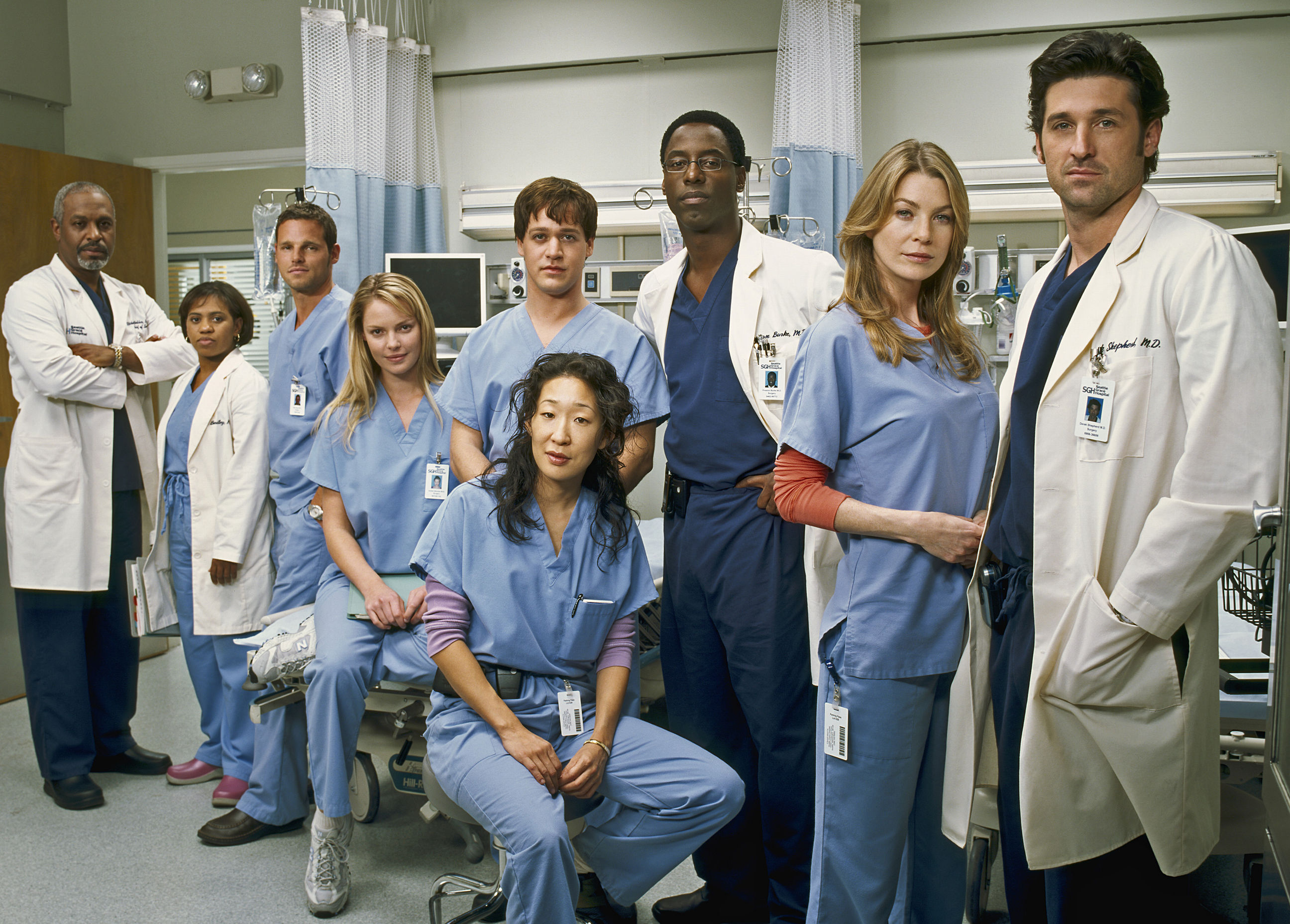 andrew greys anatomy cast - HD 1600×1200