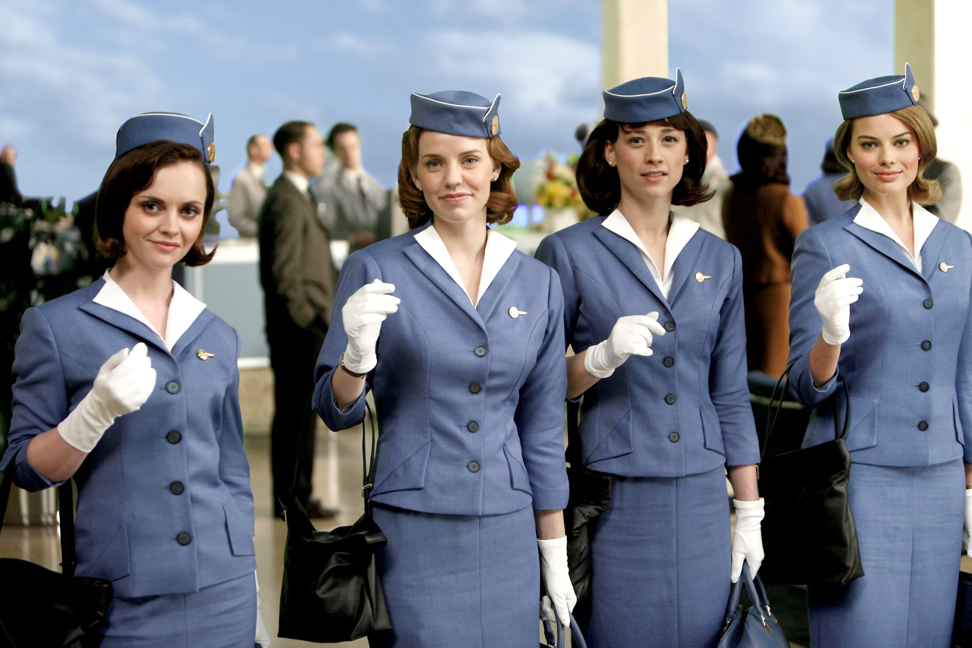 pan am christina ricci margot robbie michael mosley karine
