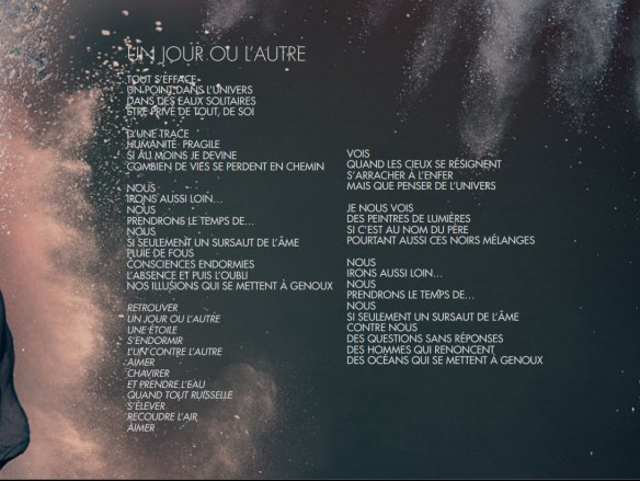 Mylène Farmer Interstellaires Album Digital Booklet with Lyrics - dvdbash.com