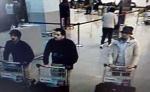 (The suspects) - Brussels, 22 March 2016 - Belgium is under highest alert level after Brussels terror attacks - dvdbash.com