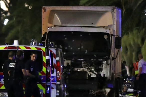 Nice, 14 July 2016, Bastille Day - A terror truck kills 84 people in the French Riviera - dvdbash.com